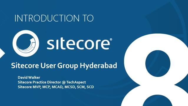 Introduction to Sitecore 8
