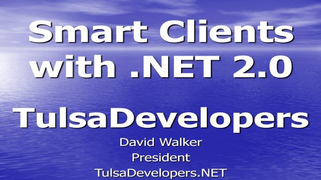 Smart Clients with .NET 2.0